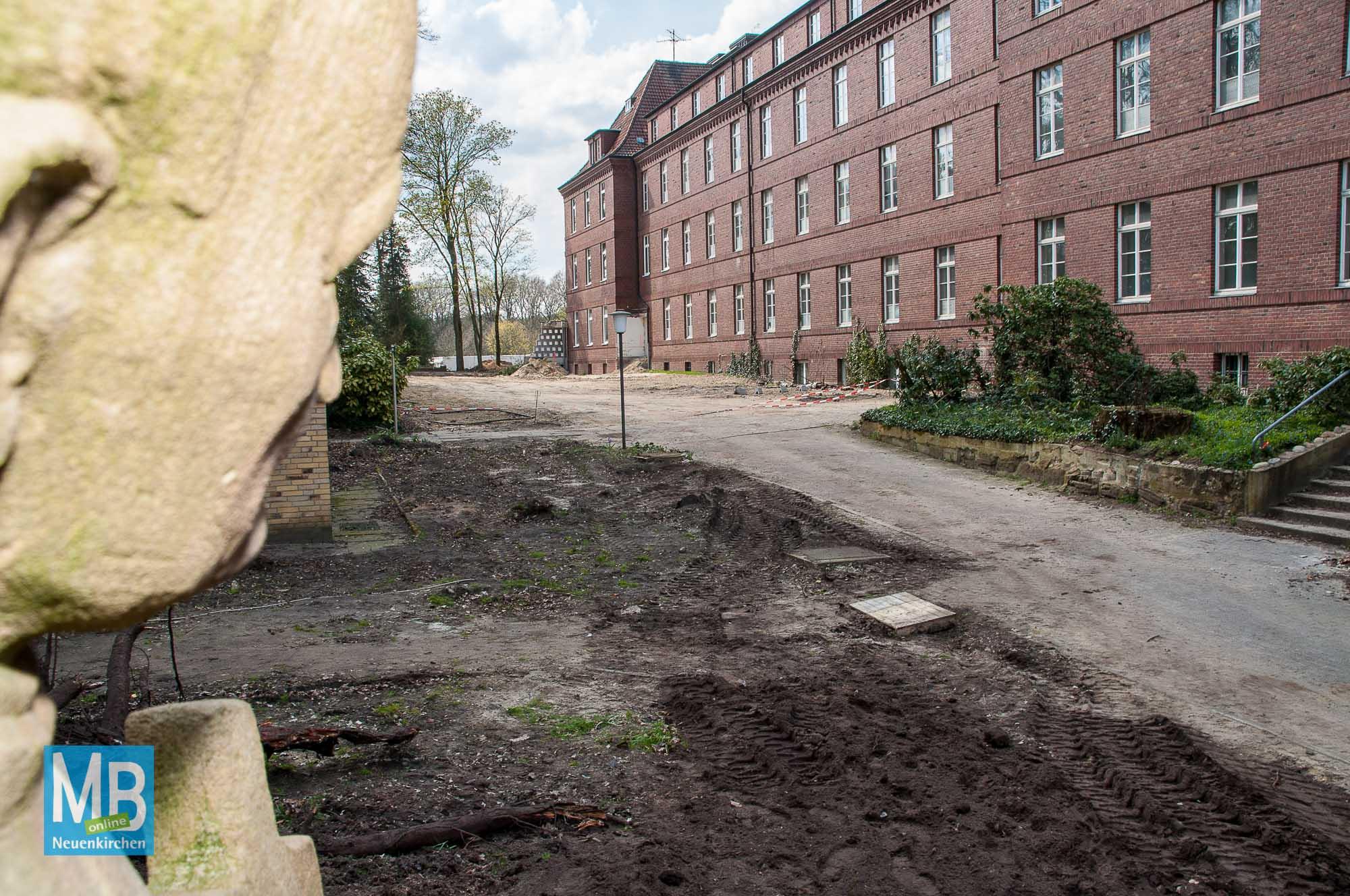 Missionshaus wird abgerissen