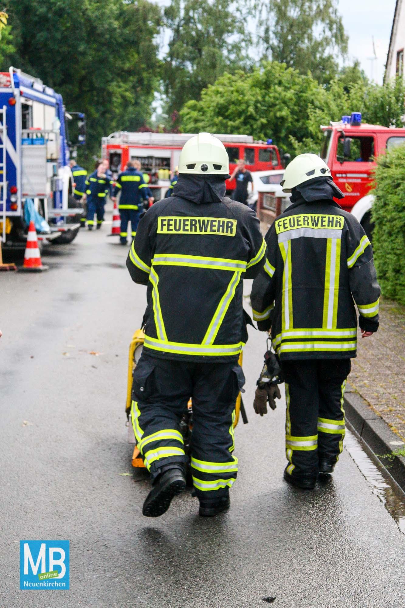 Unwetter in Neuenkirchen