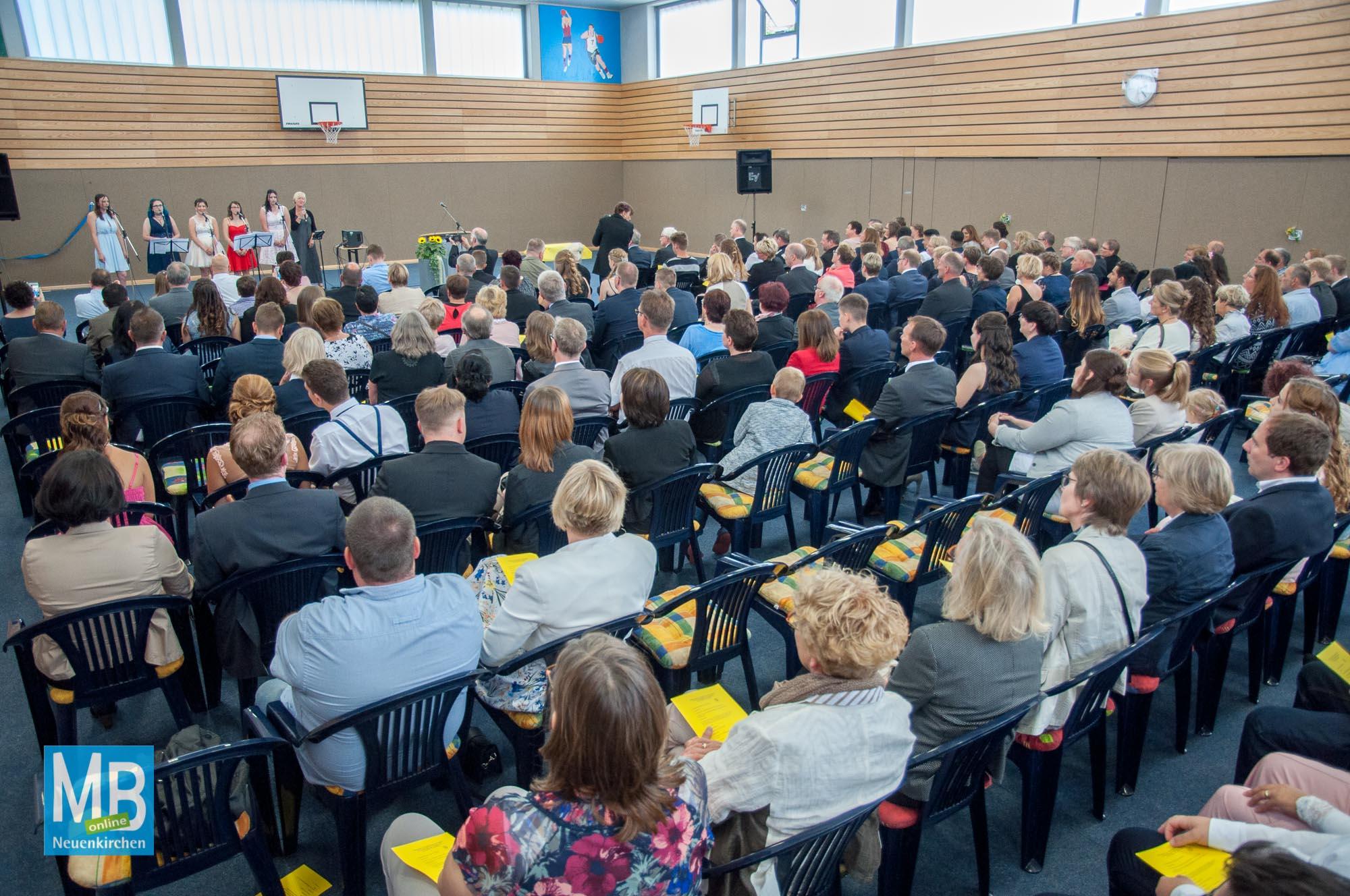 Entlassung Heriburgschule 2017