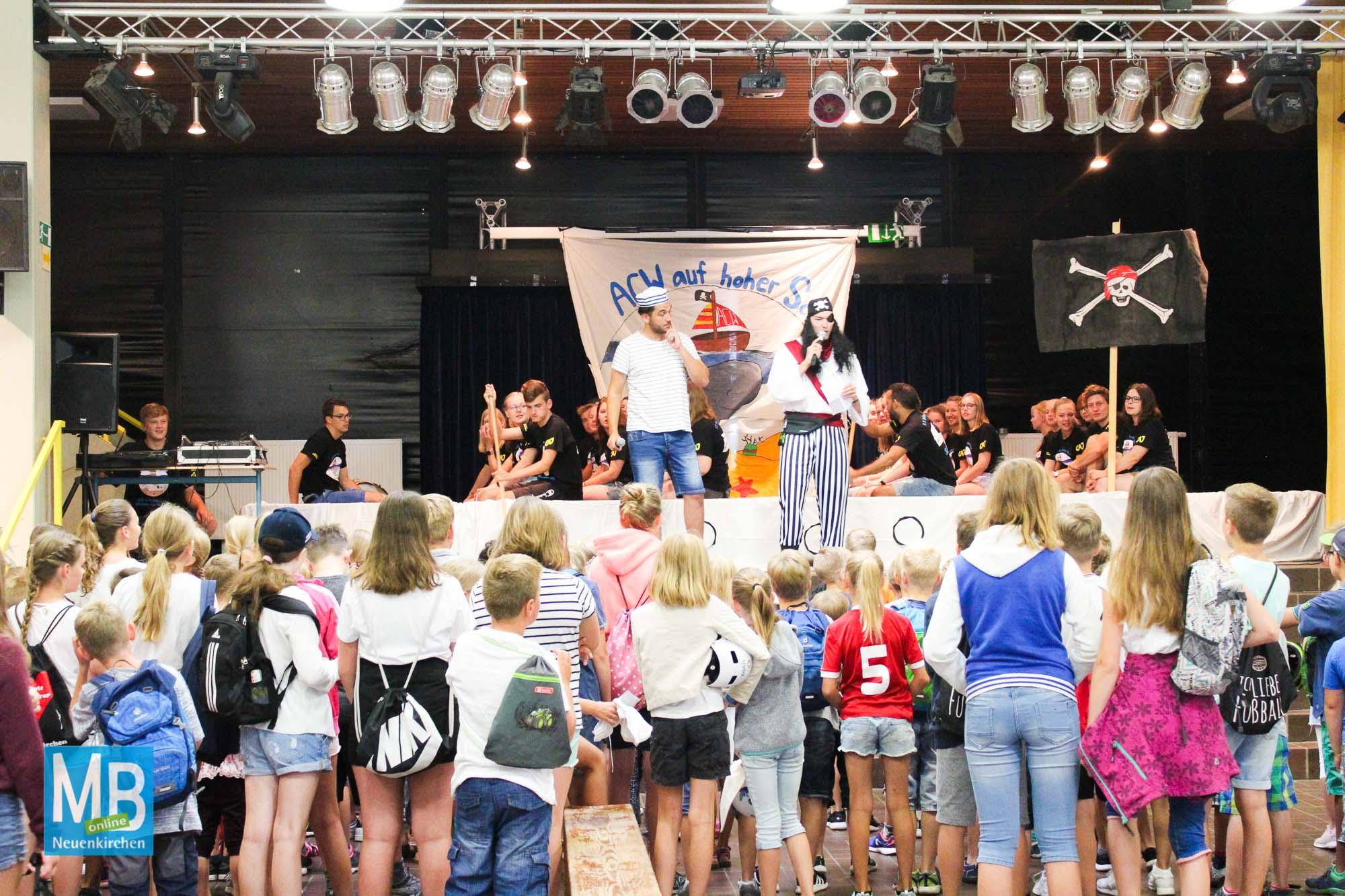 Buntes Programm bei der CAJ-Actionwoche 2019 | Foto: Lea Helene Kaumanns