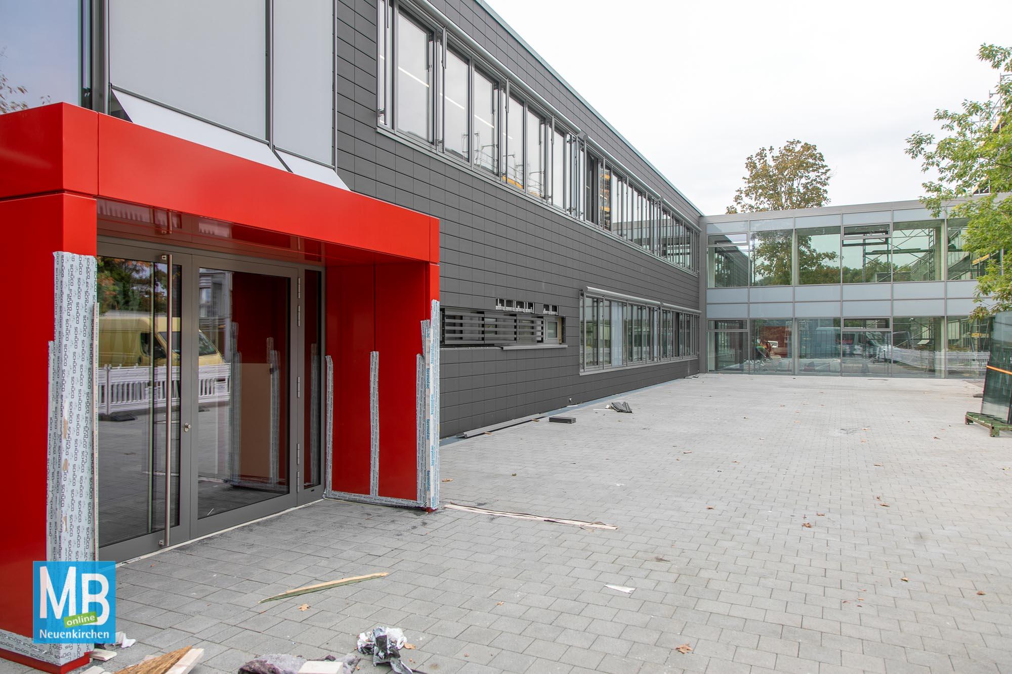 AJG-Neubau fast fertig