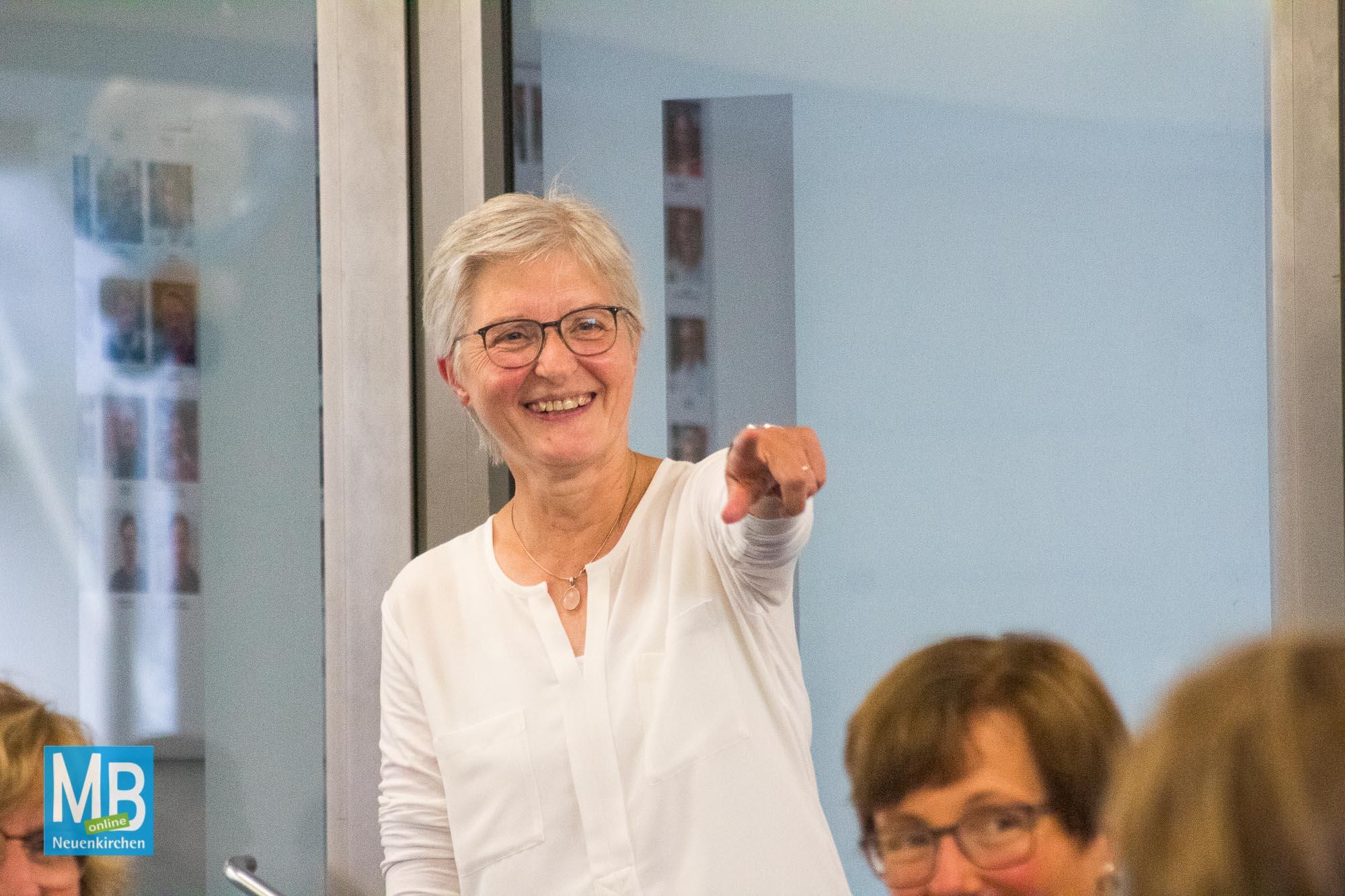 Herzlicher und humorvoller Abschied am AJG. | Foto: Lea Helene Kaumanns