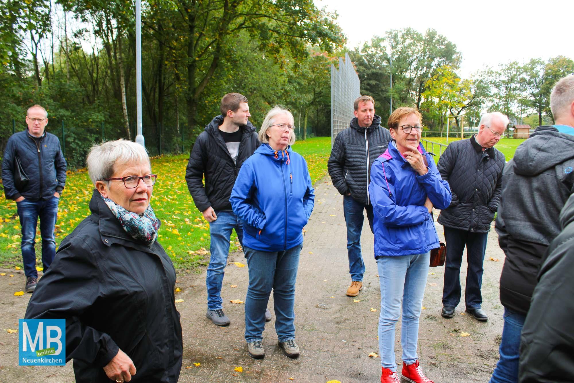 Baustellenbesichtigung: SuS-Stadion. | Foto: Lea Helene Kaumanns