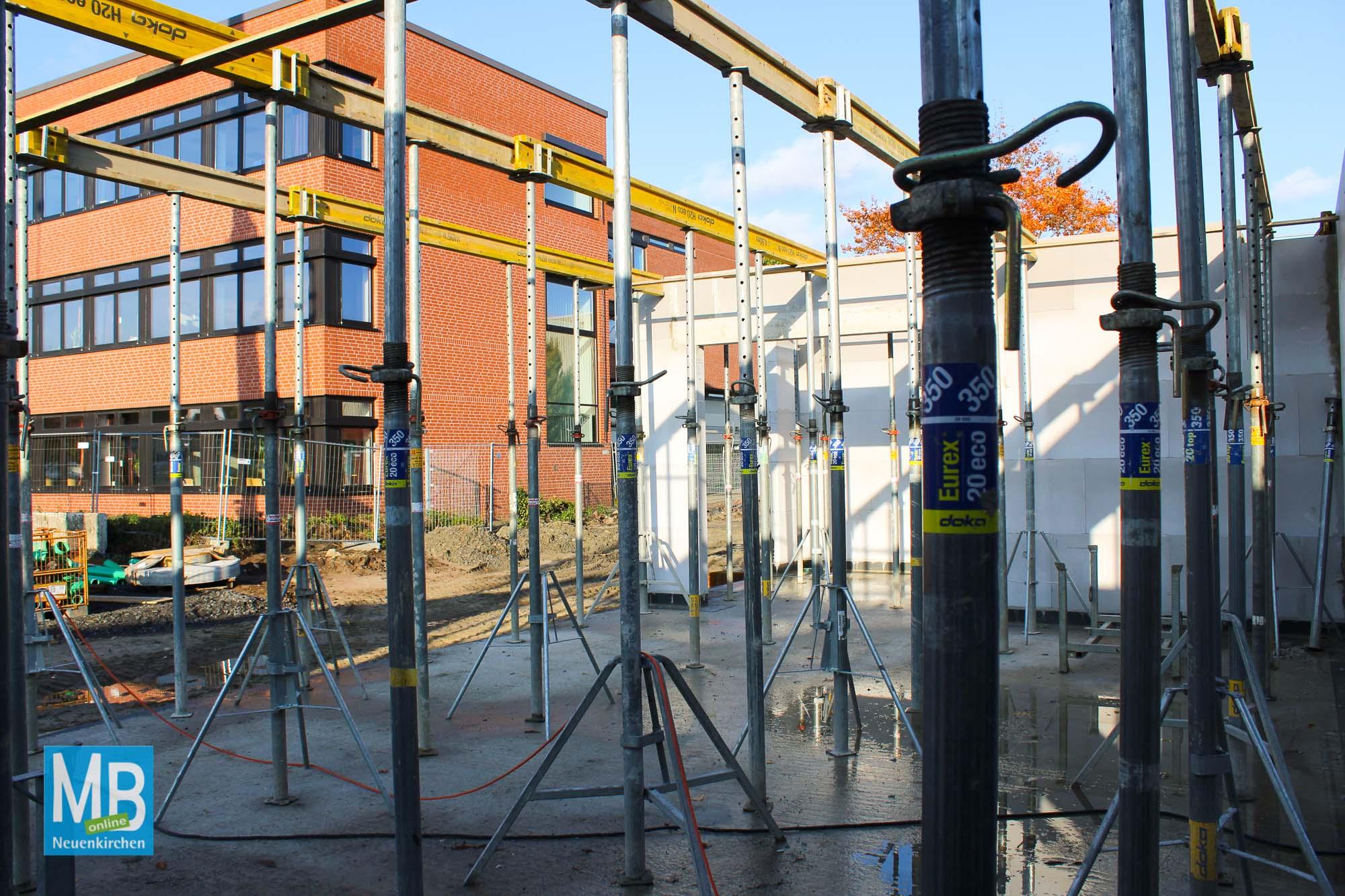 Baustellenbesichtigung: ENS-Mensa. | Foto: Lea Helene Kaumanns