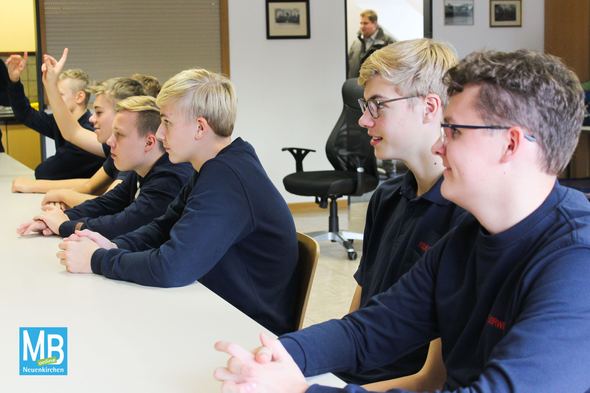 Berufsfeuerwehrtag für die Jugendfeuerwehr mit sechs realitätsnahen Einsatzübungen. | Foto: Kaumanns