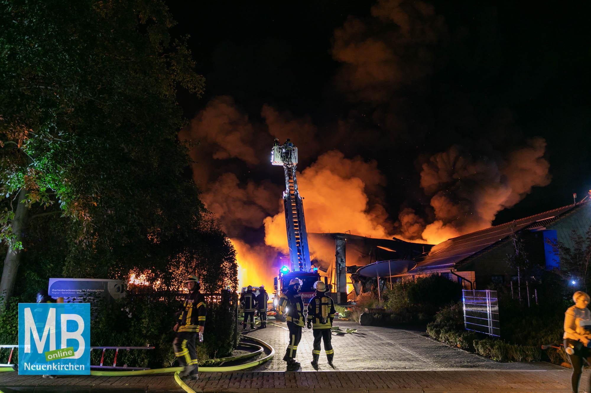 Brand Ulmenstraße