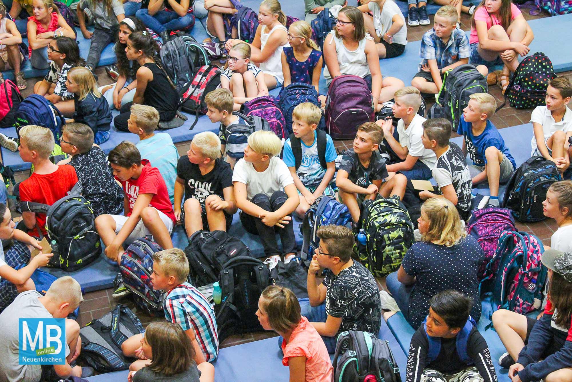 Einschulung an der Emmy-Noether-Schule. | Foto: Kaumanns
