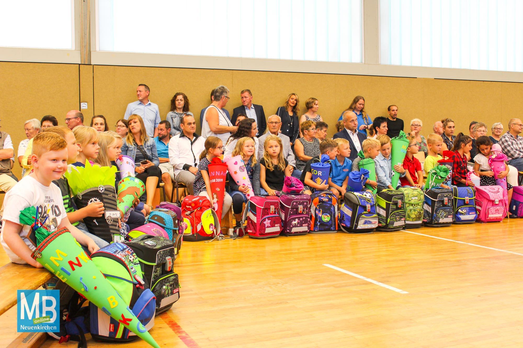 Einschulung an der Josefschule St. Arnold. | Foto: Kaumanns