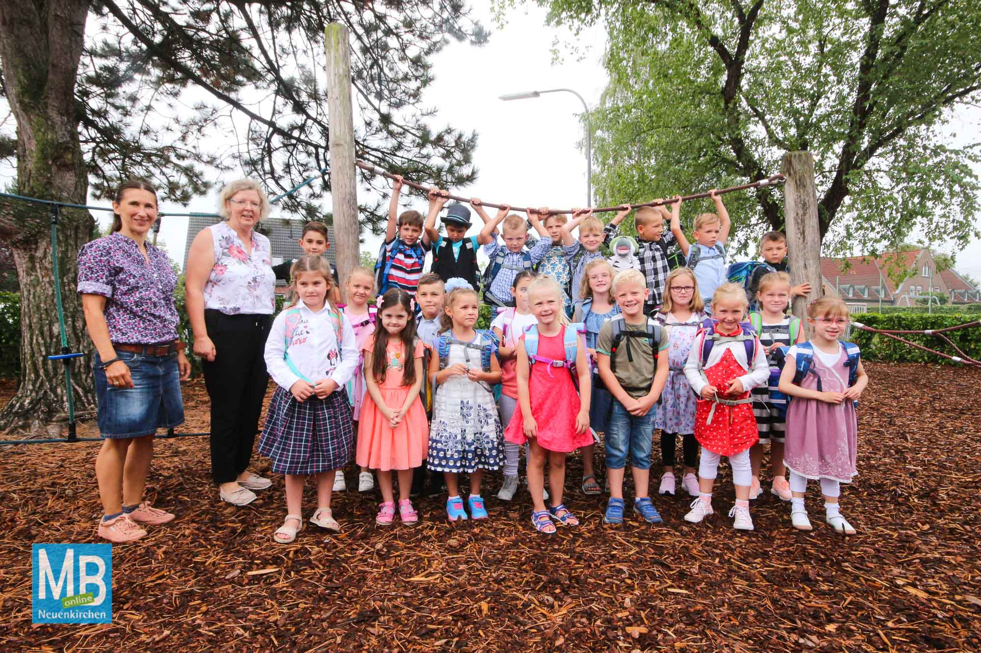 Die Thieschule feiert Einschulung. | Foto: Heuermann