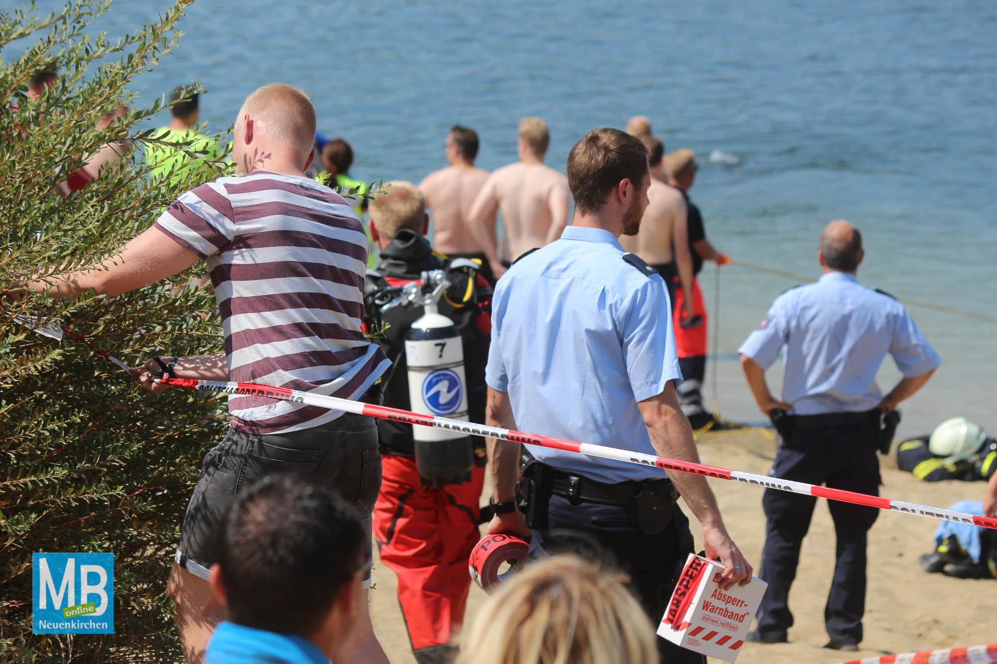 Feuerwehreinsatz Offlumer See