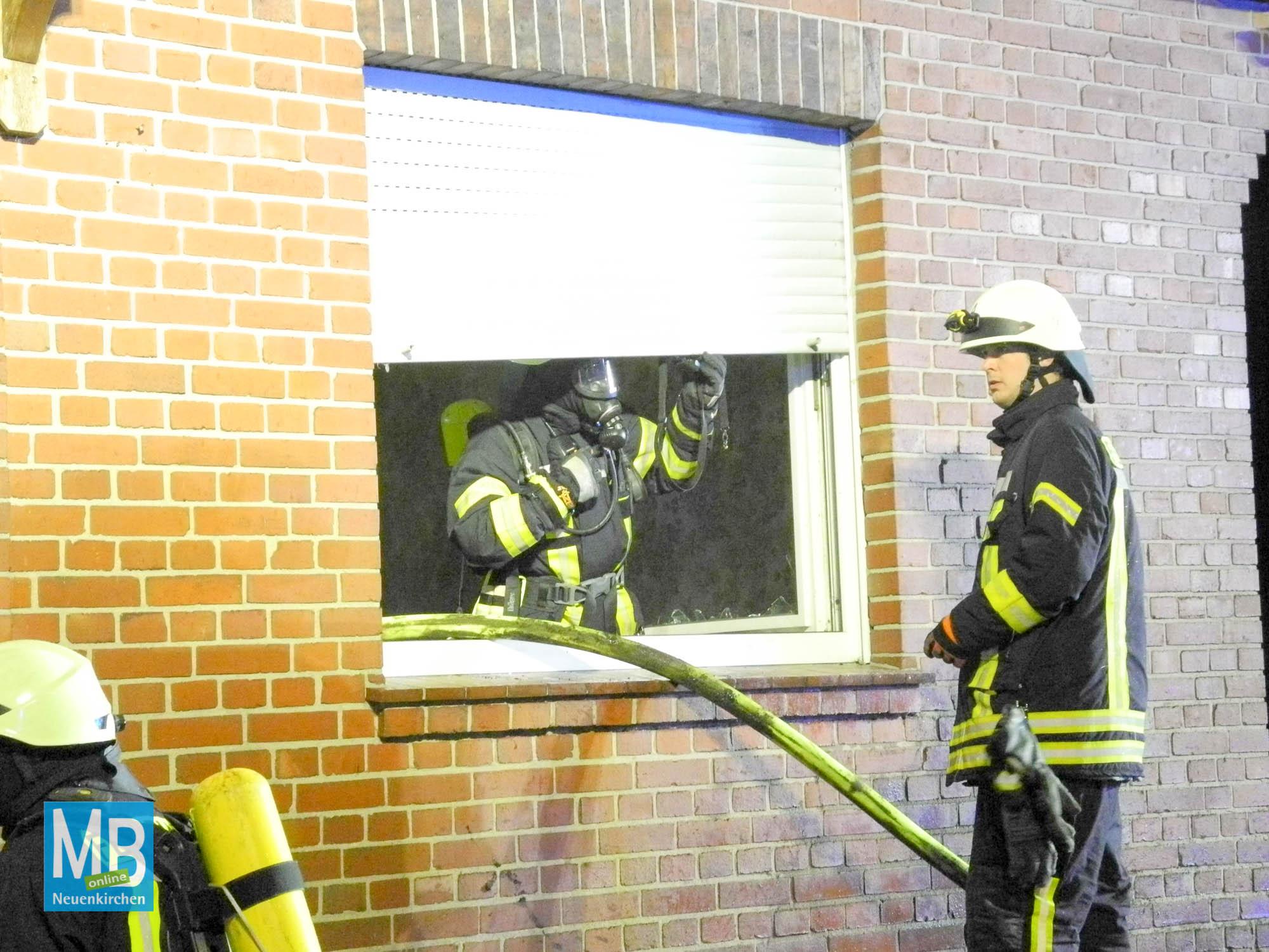 Feuerwehrübung in Offlum