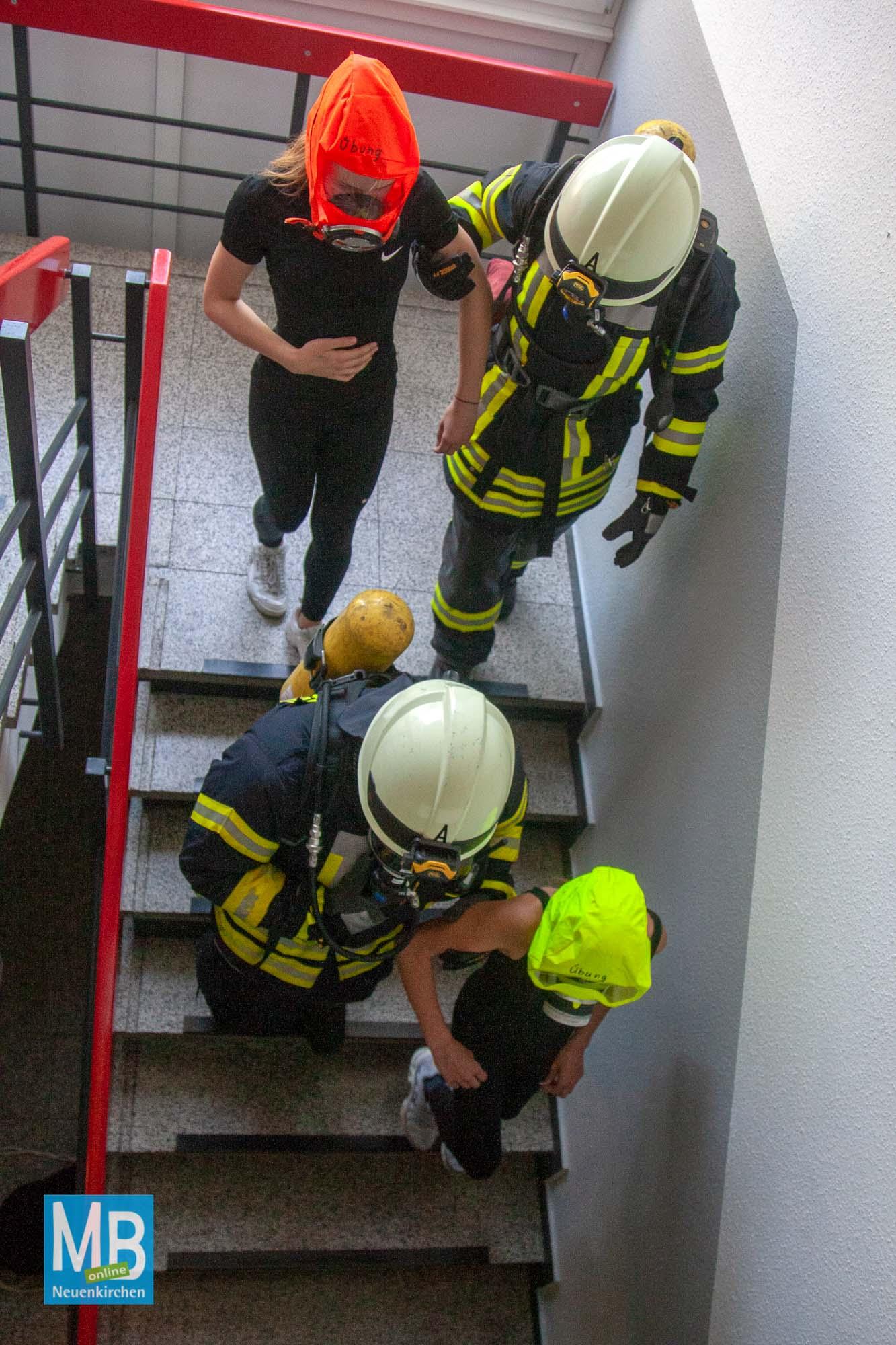 Feuerwehrübung Jabot