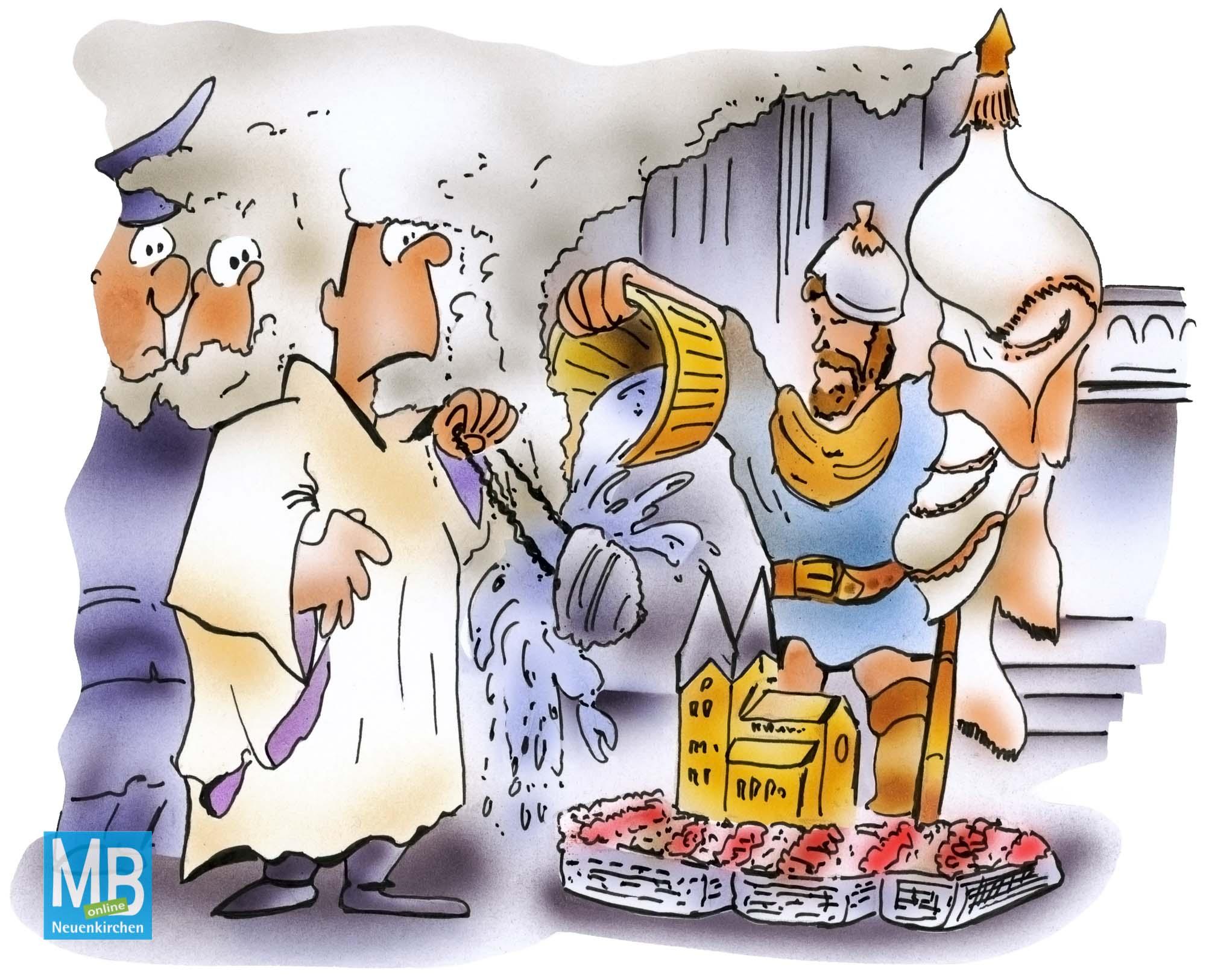 Karikatur Neuenkirchen 22-2018
