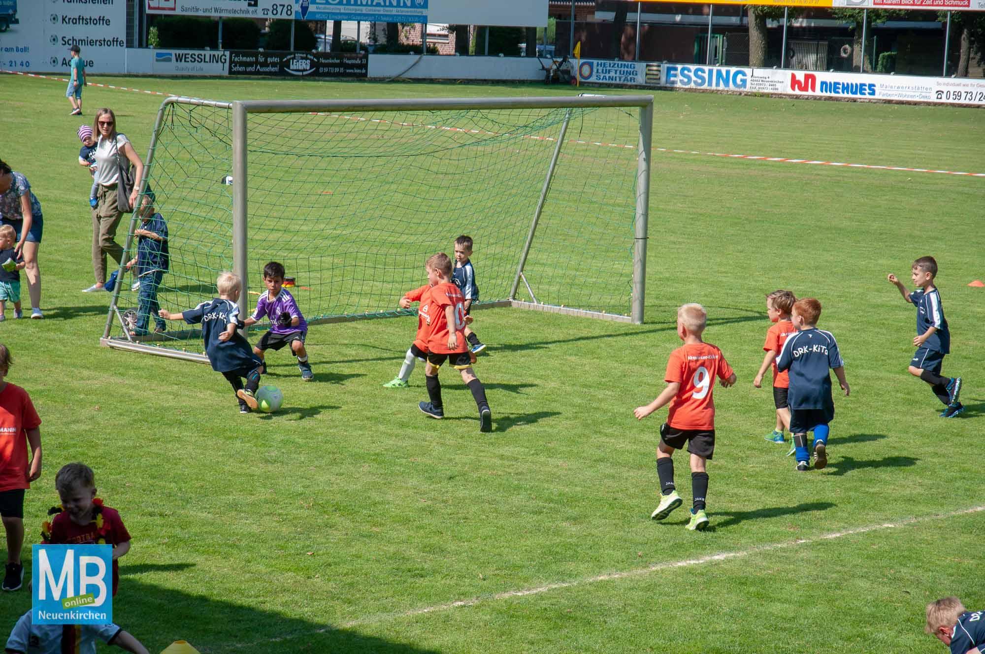 Fußballturnier der Kindergärten