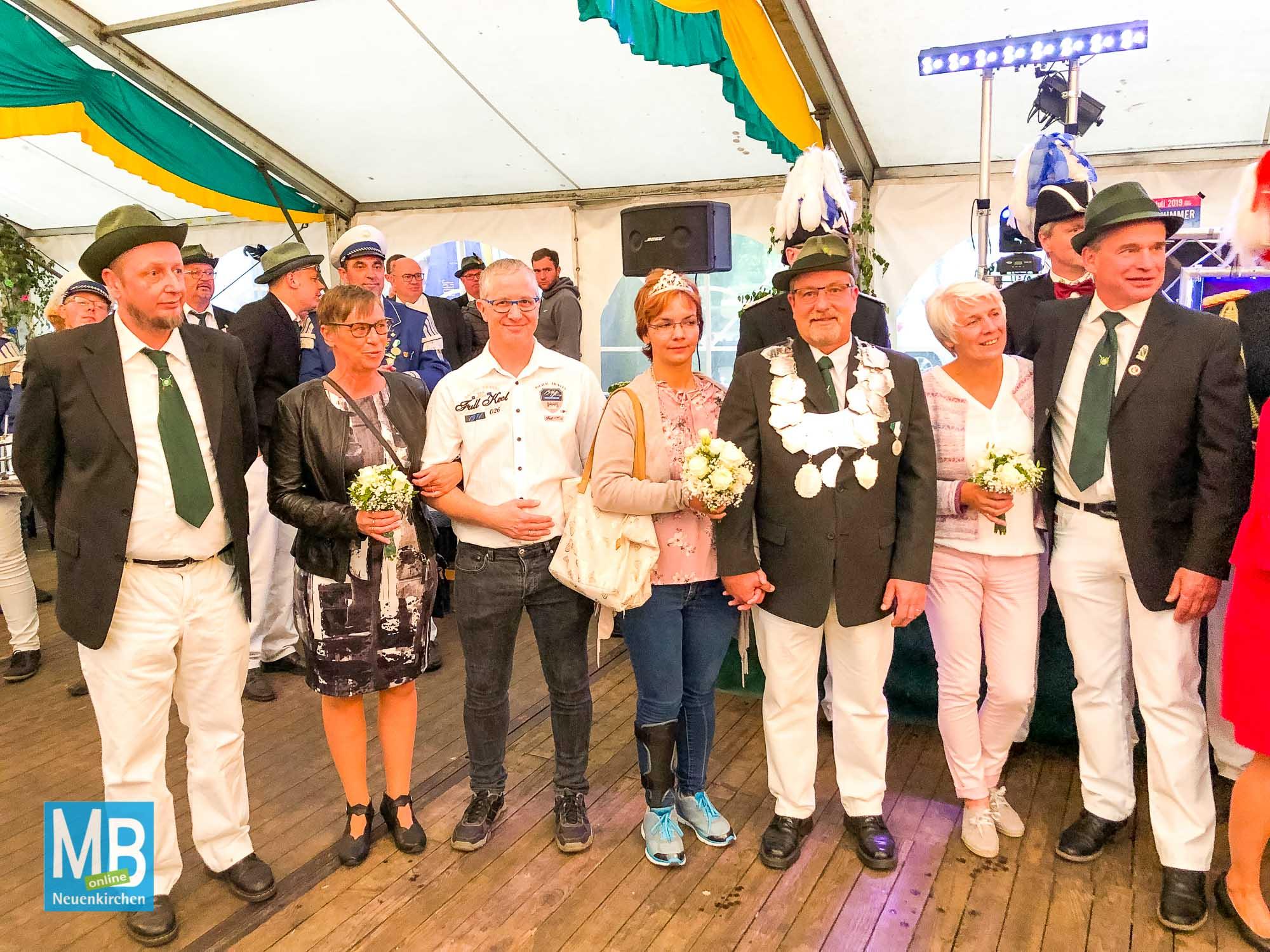 Das letzte Schützenfest des Jahres  im Heithoek. | Foto: Lea Helene Kaumanns