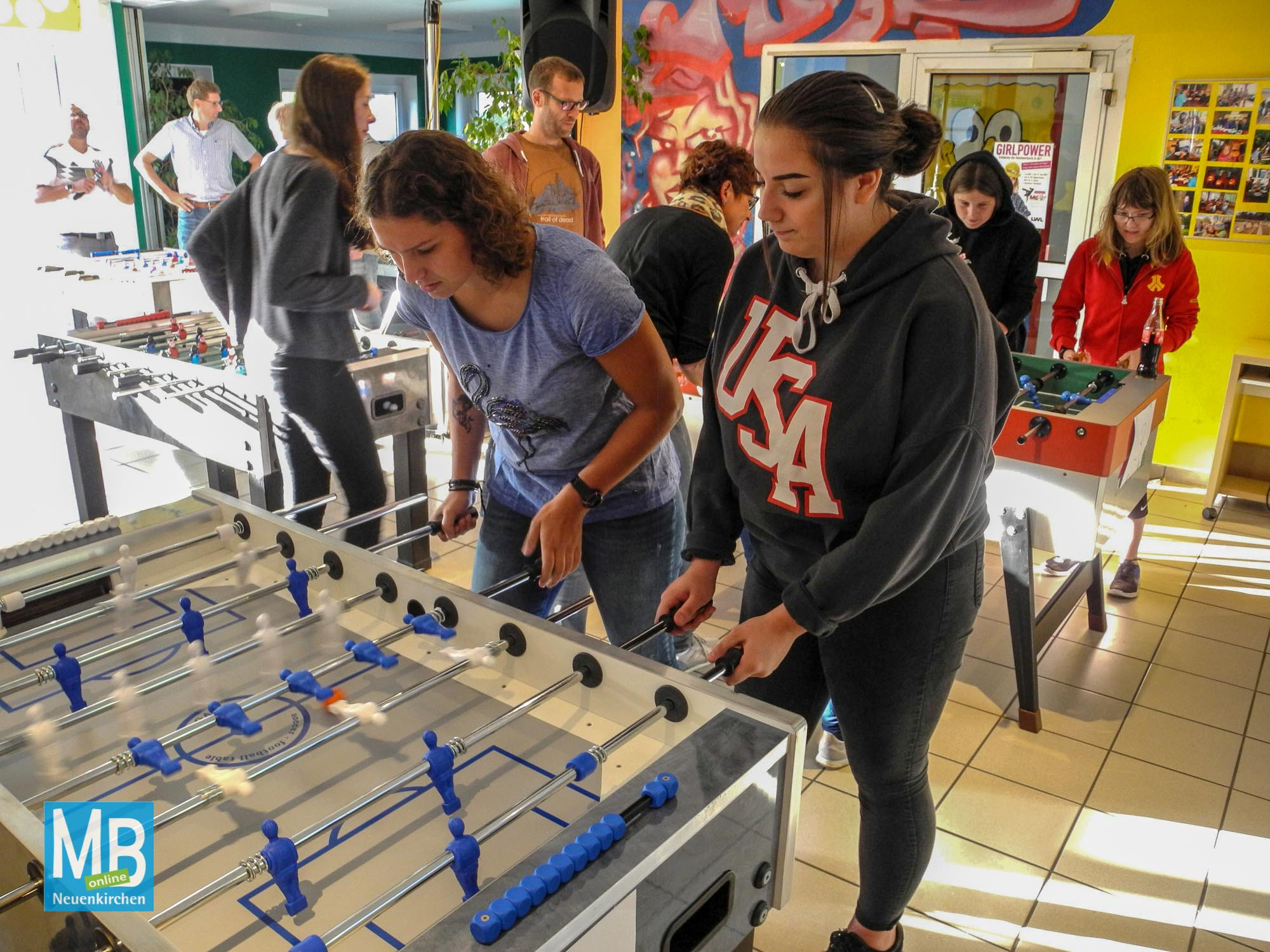Kickerturnier und Jugendsprechstunde 2018