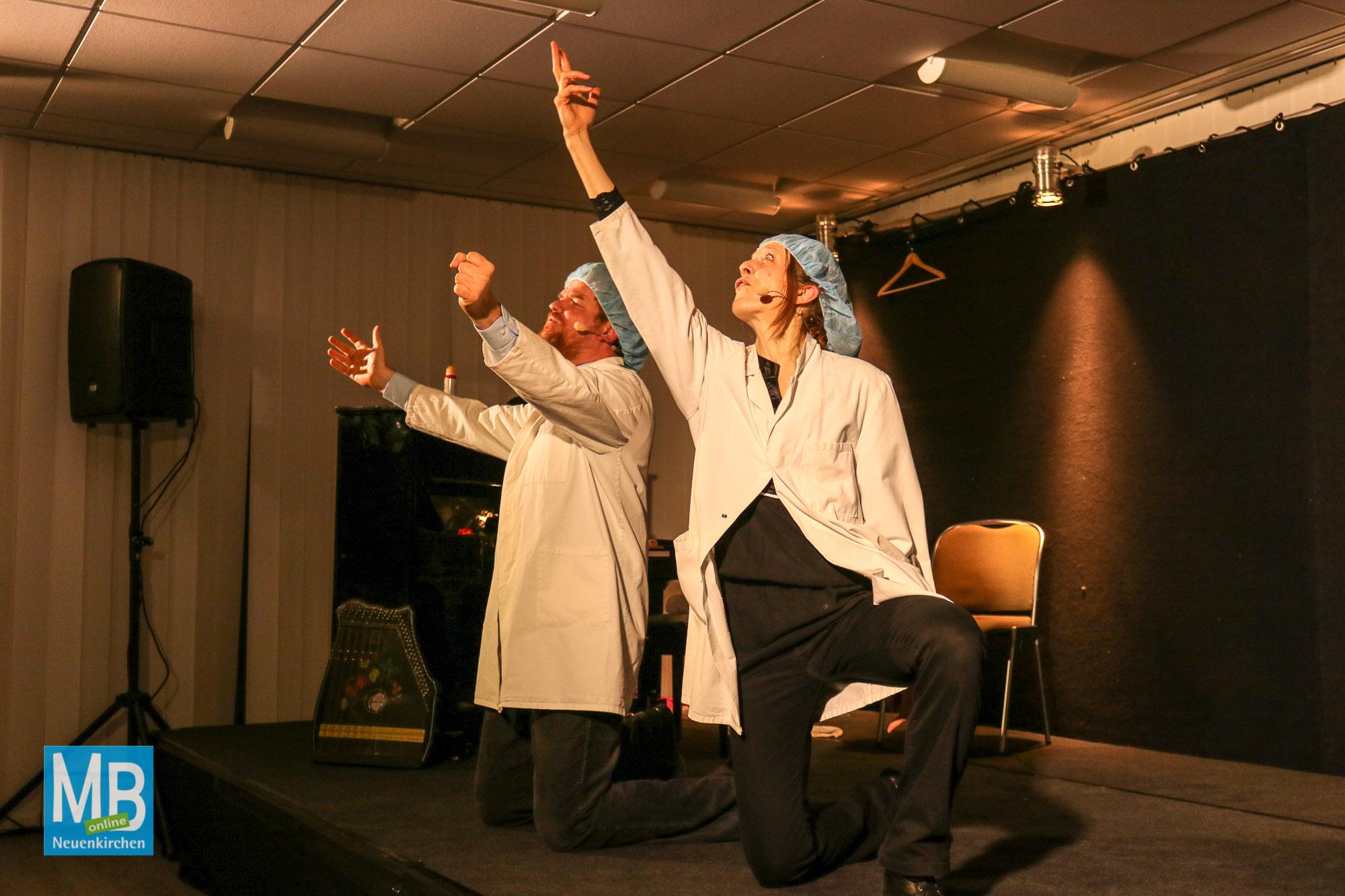 """Kabarett """"Geniale Momente"""" mit Irmhild Willenbrink und Markus Fischer   Foto: Tom Wunderlich"""