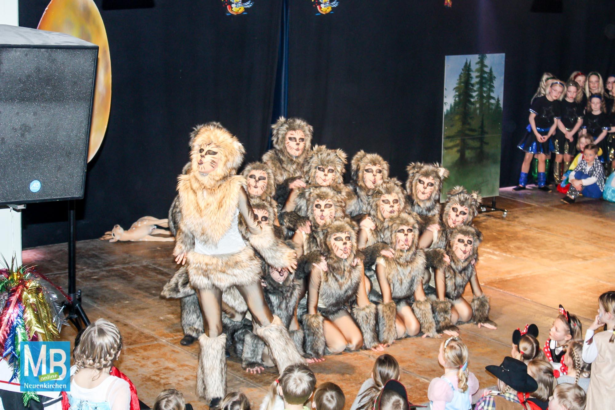 Neuenkirchener Kinderkarneval 2017