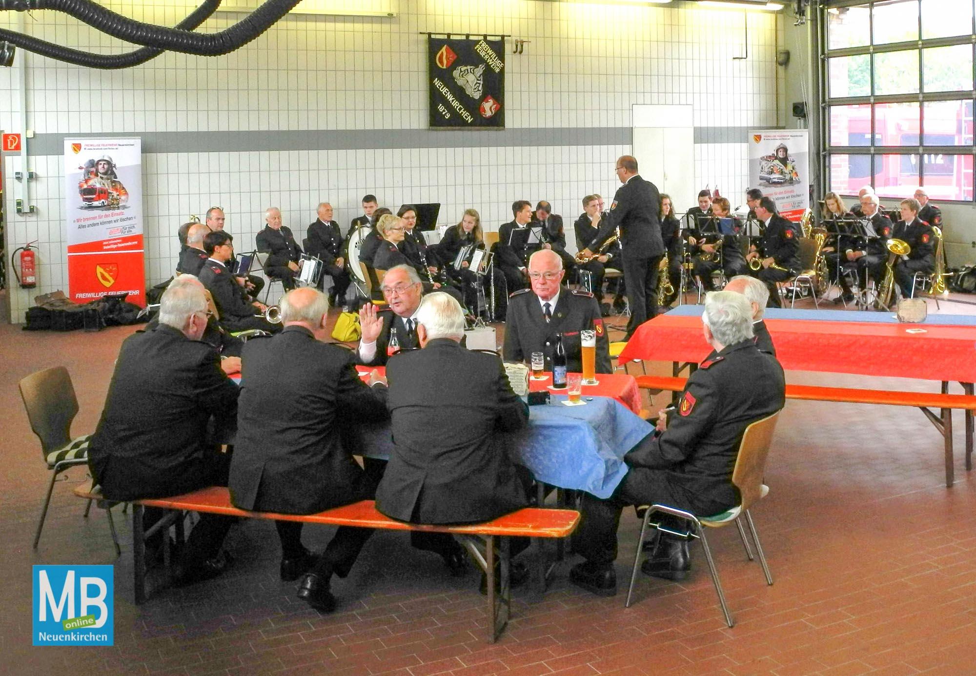Fahrzeugweihe HLF20 und SW-KatS Feuerwehr 2017