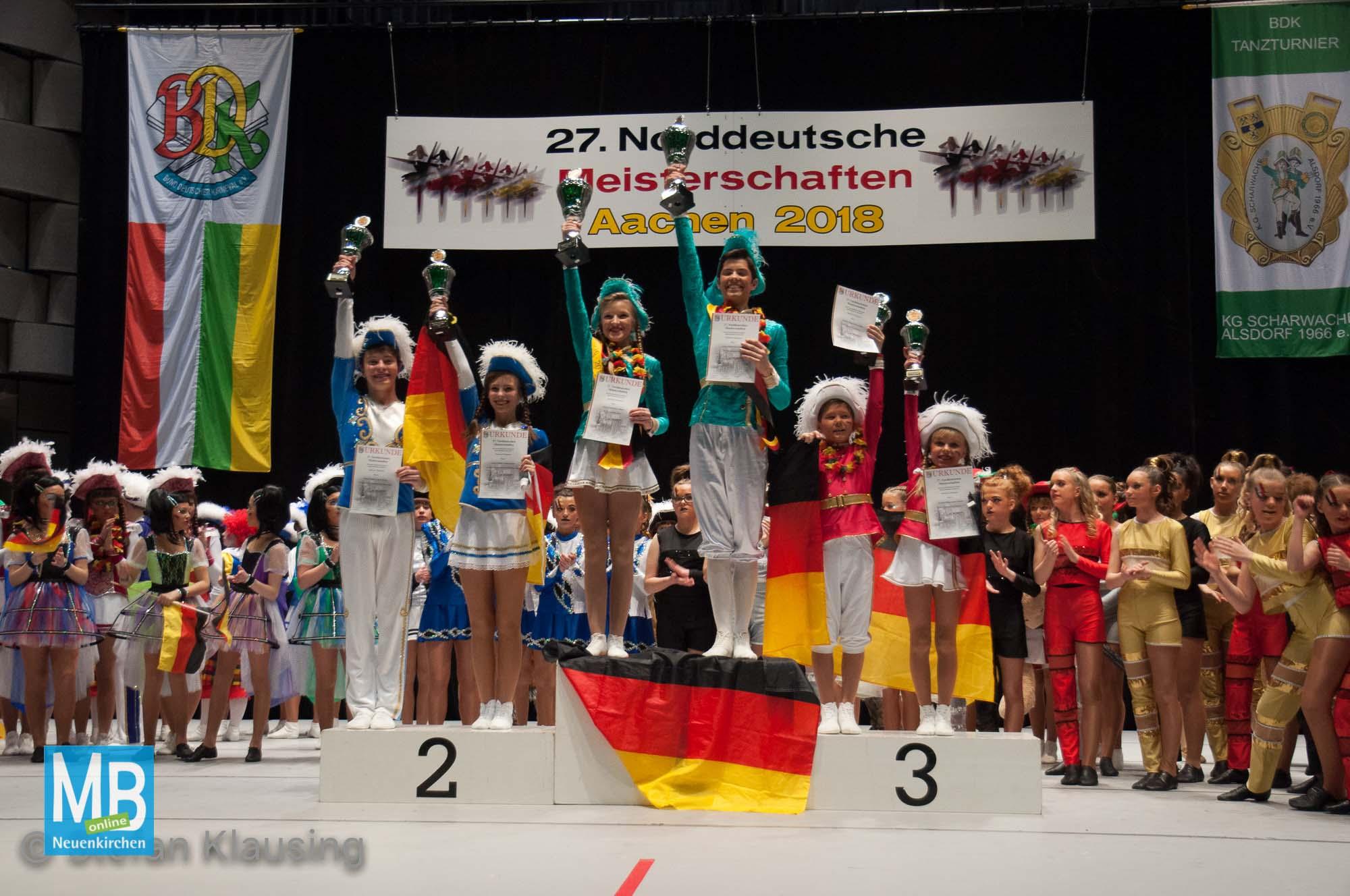 Norddeutsche Meisterschaft in Aachen 2018