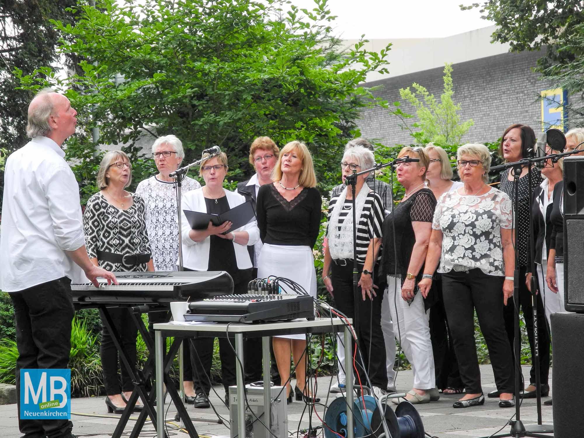 Open-Air-Chorfestival am Sonntag