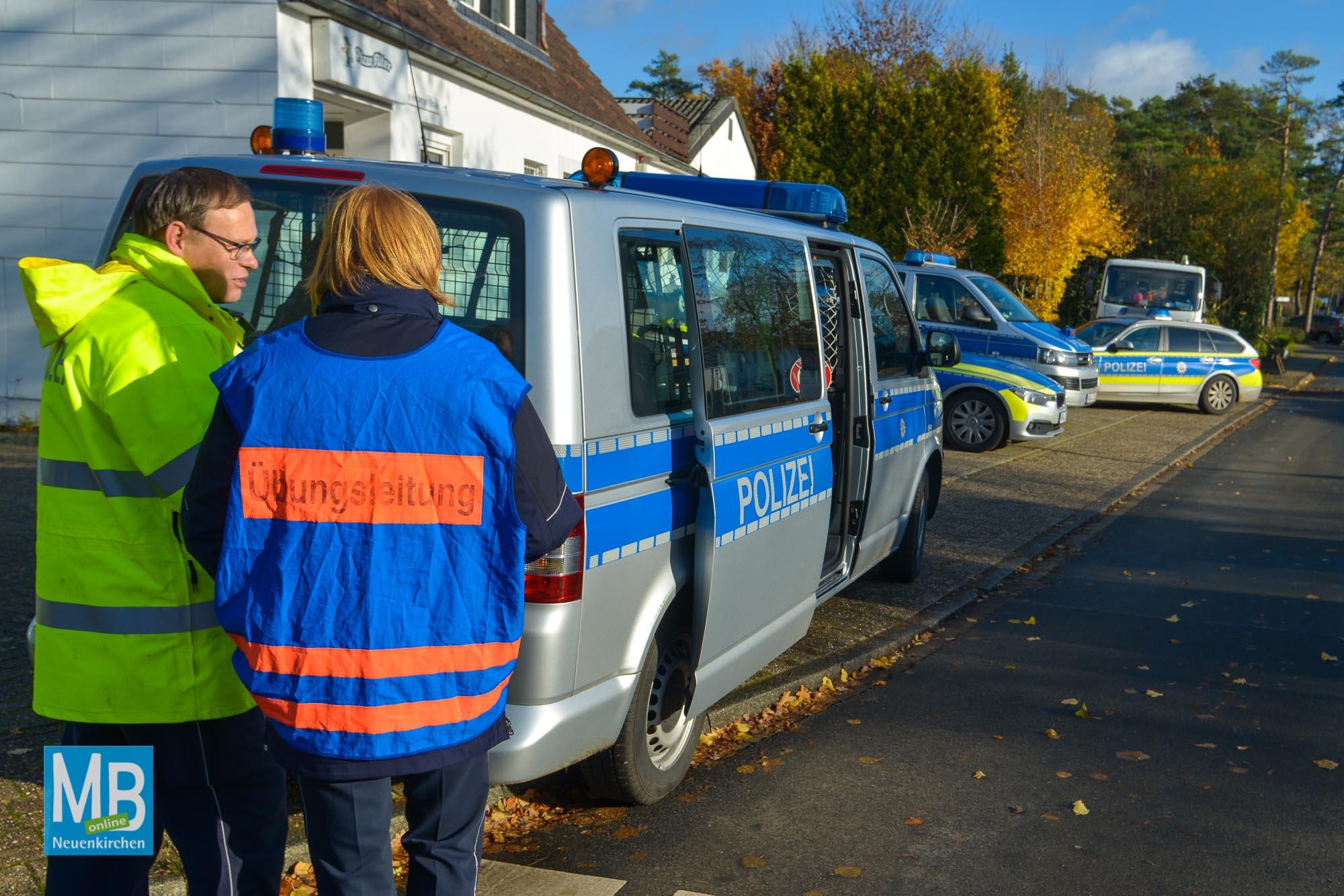 Übung Polizei Präsidium Münster