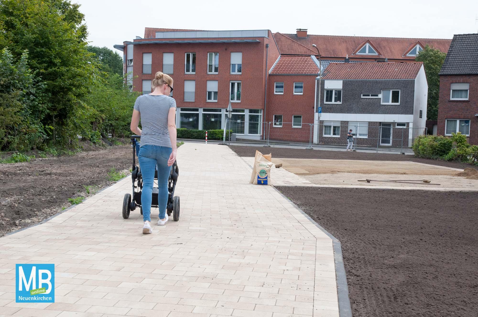 Neuer Fuß- und Radweg