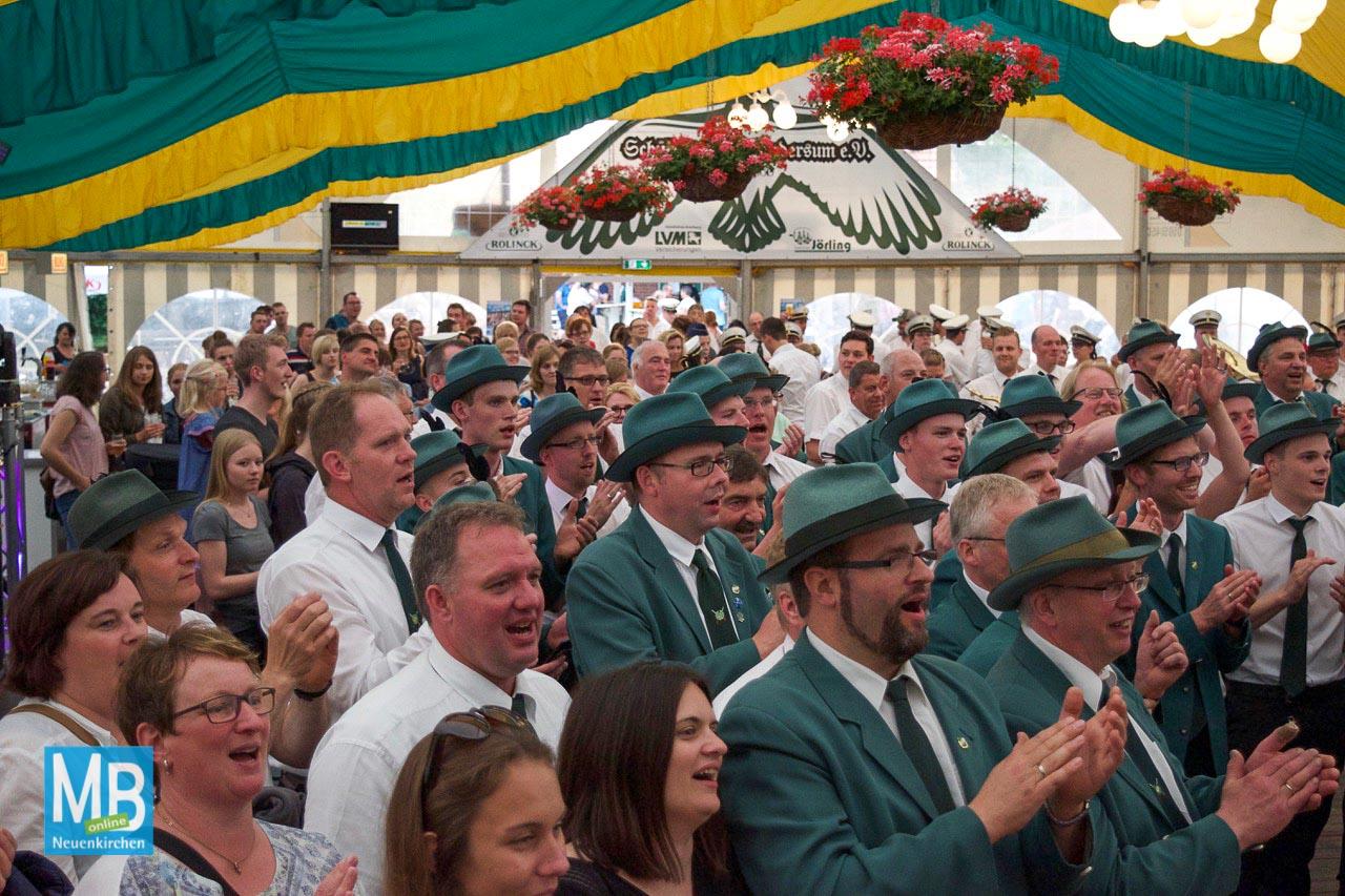 Schützenfest Landersum 2018