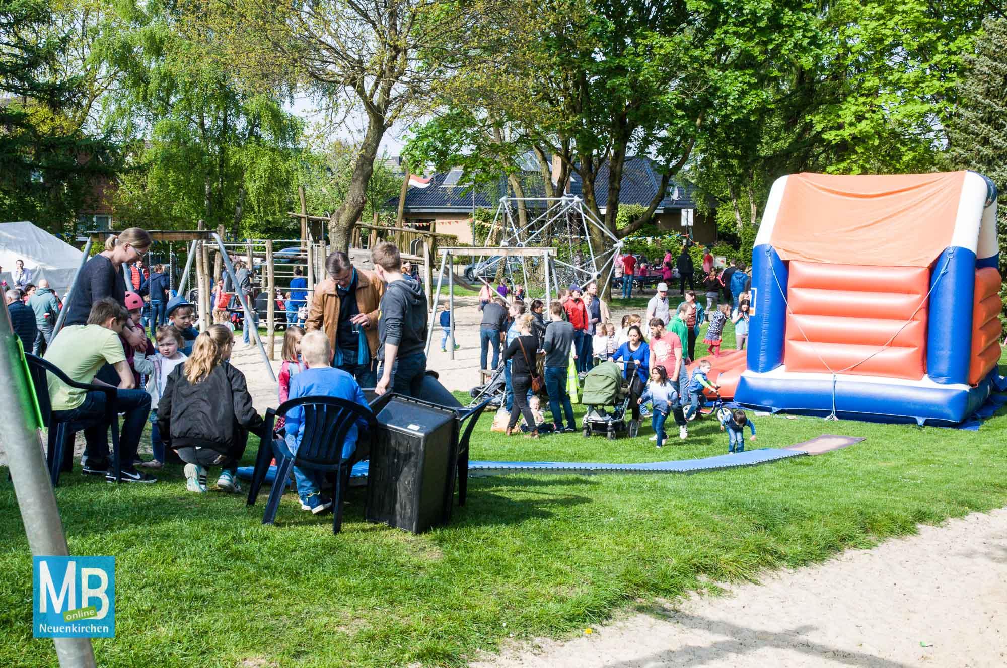 Spielplatzfest Dörper Berg 2017