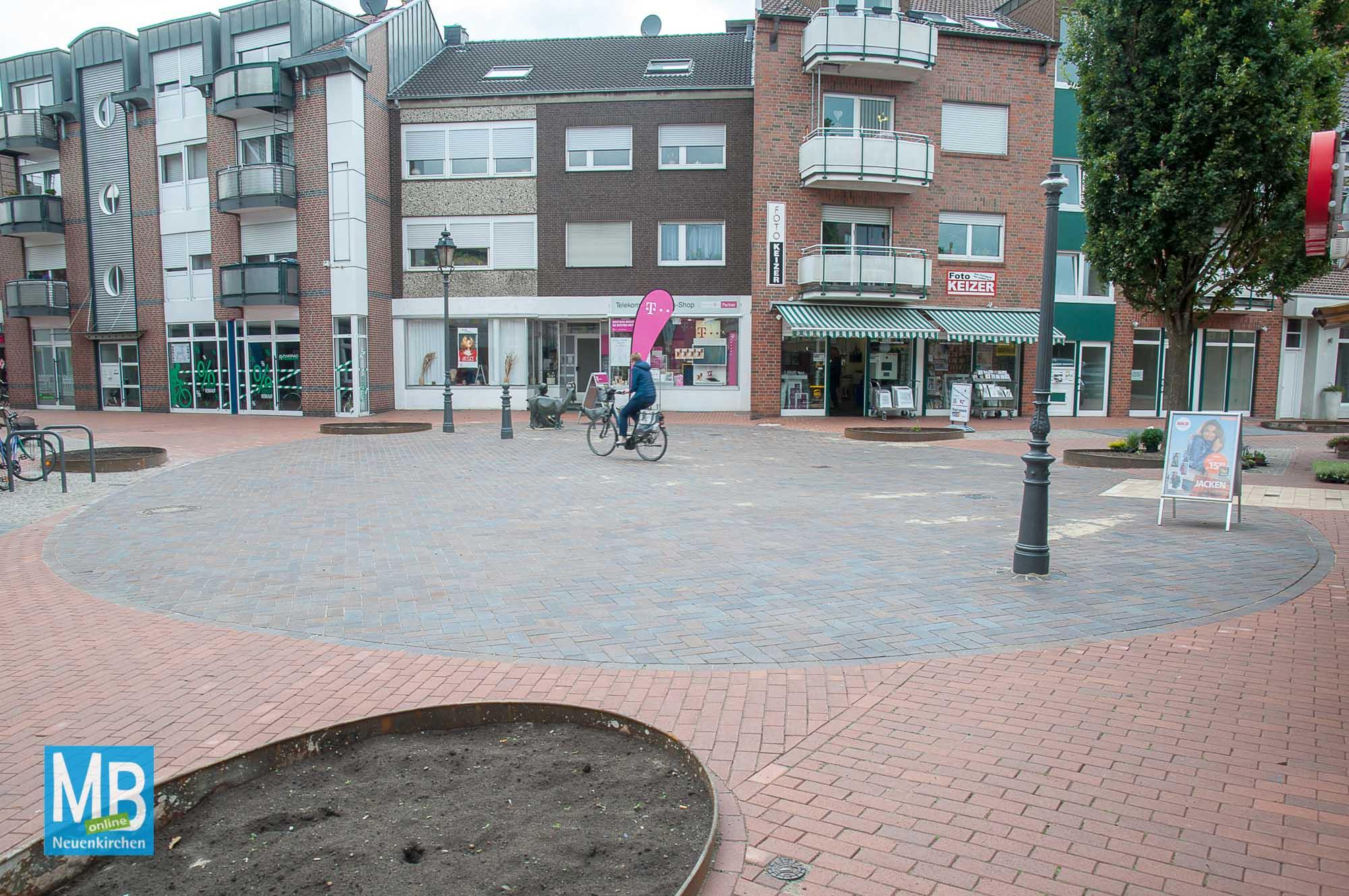 Umgestaltung Fußgängerzone