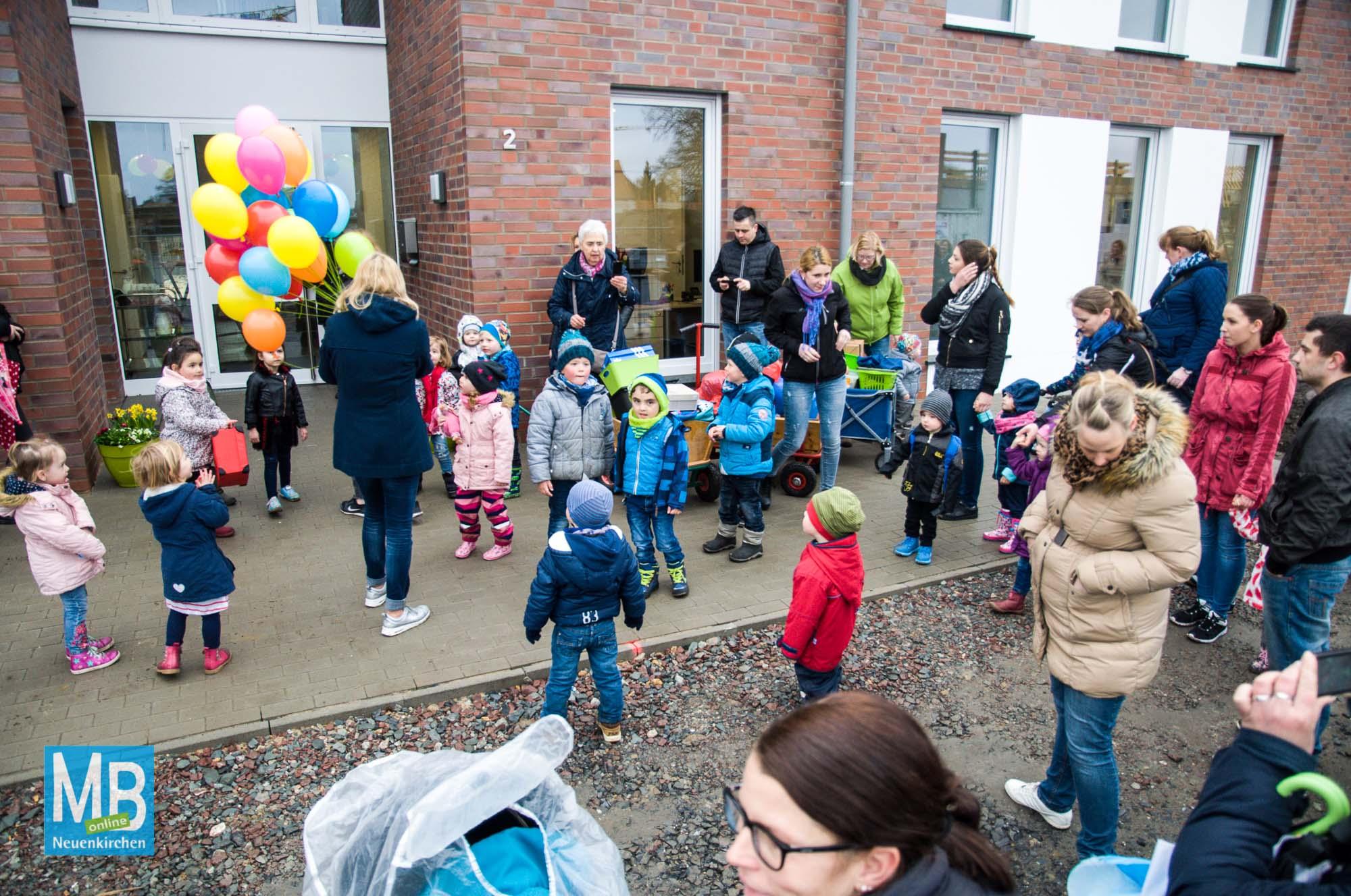 Die Kita Hoppetosse ist in ihr neues Gebäude am Schittwilken Kamp eingezogen. | Foto: Stefan Klausing