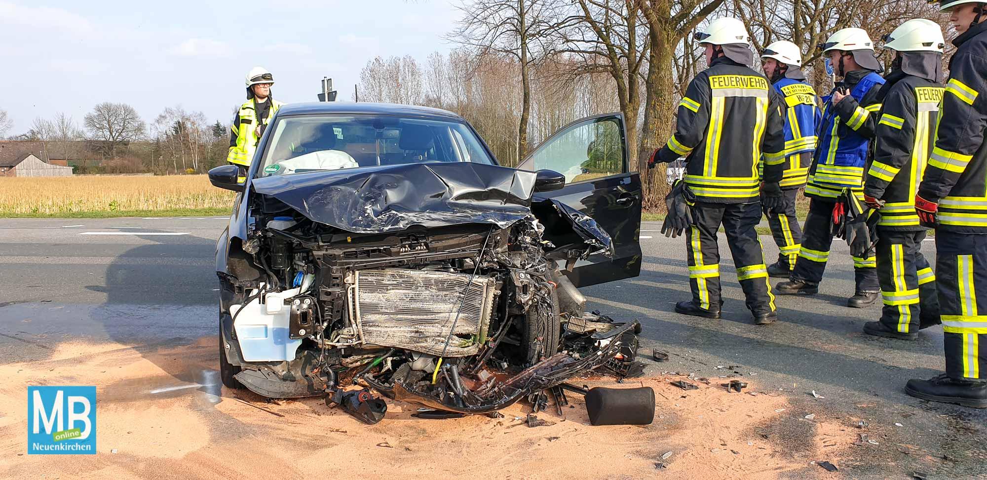 Unfall Rheiner Straße
