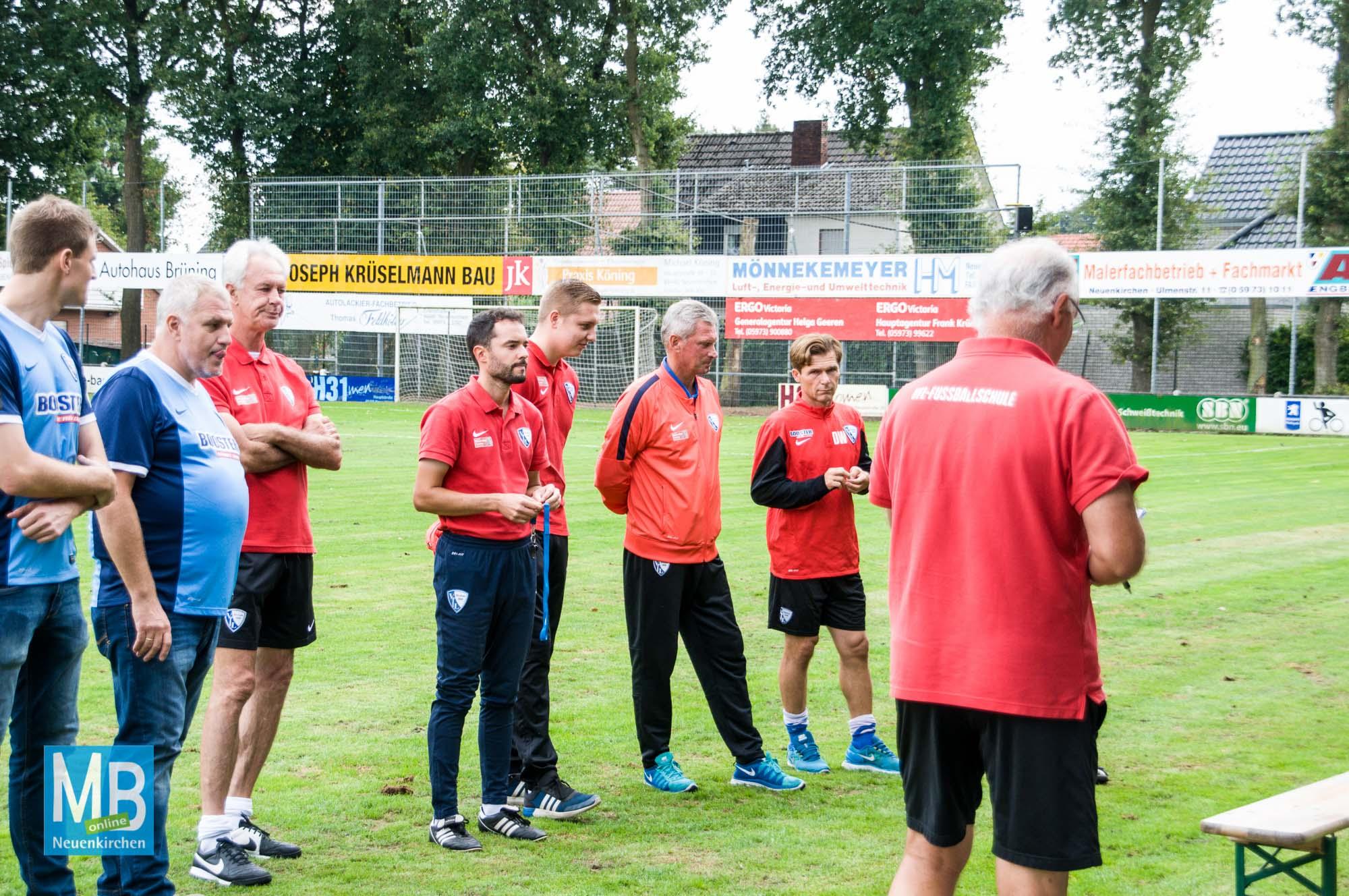 Fußballschule zu Gast in Neuenkirchen