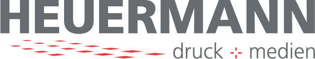 HEUERMANN druck+medien Logo