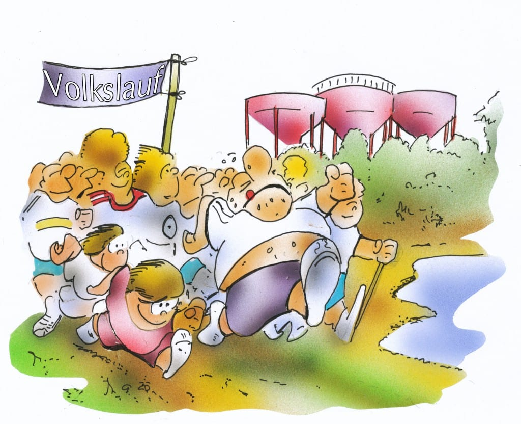 Karikatur: H. Schwarze-Blanke