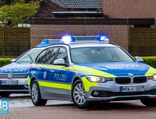 Polizeieinsatz an der Erich-Kästner-Straße