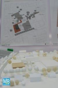 Das Preisgericht hat getagt und sich für vier Entwürfe für die neuen Mensa an der Emmy-Noether-Schule entschieden. | Foto: Stefan Klausing