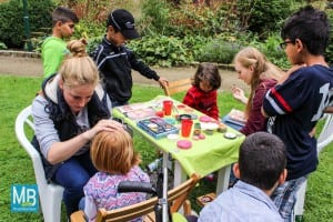 Eindrücke vom Begegnungsfest im Park der Villa Hecking.