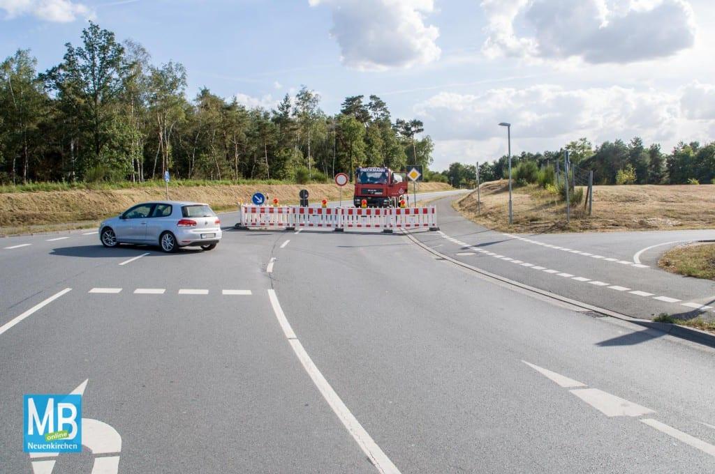 Die L 580 (Burgsteinfurter Damm) wird bis Ende Oktober wegen Sanierung der Fahrbahn gesperrt. | Foto: Klausing