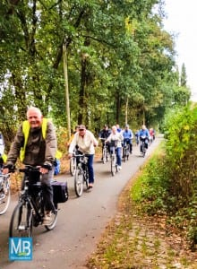 Gut gemischt – die Radgruppe bei der ADFC-Saisonabschluss-Tour 2016   Foto: Nolte