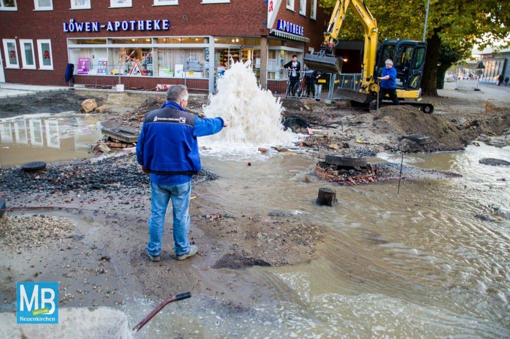 Neuer Springbrunnen auf dem Rathausplatz? | Foto: Stefan Klausing