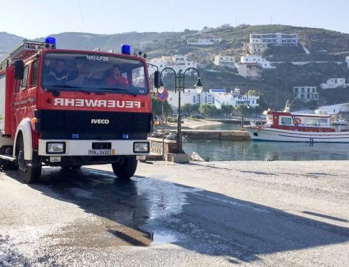 Neue Einsätze fürs LF20 auf griechischer Insel Fournoi