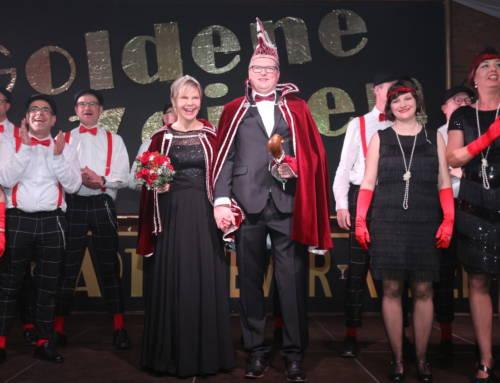 Närrisches Beben und Goldene Zeiten in der Stadthalle St. Arnold