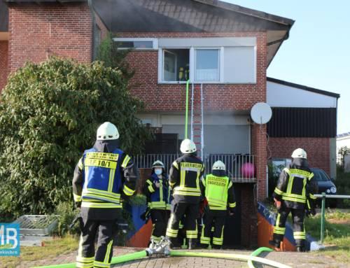 Wohnungsbrand an der Salzbergener Straße