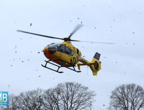 Unfall mit drei Schwerverletzten auf der B70