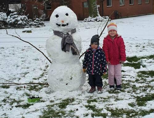 Jede Menge Schneemänner und tolle Leser-Fotos haben uns erreicht